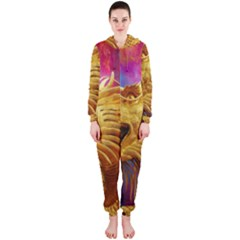 Broncefigur Golden Dragon Hooded Jumpsuit (Ladies)