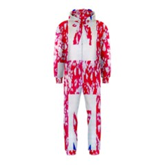 British Flag Abstract Hooded Jumpsuit (Kids)