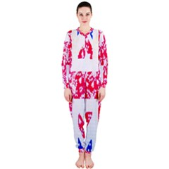 British Flag Abstract OnePiece Jumpsuit (Ladies)