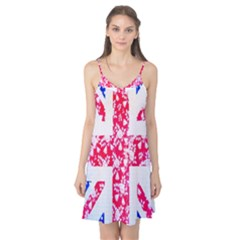 British Flag Abstract Camis Nightgown