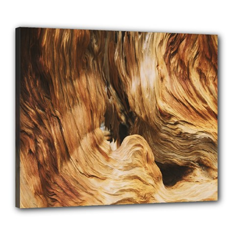 Brown Beige Abstract Painting Canvas 24  x 20