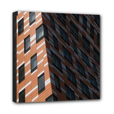 Building Architecture Skyscraper Mini Canvas 8  X 8