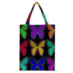 Butterflies Pattern Classic Tote Bag