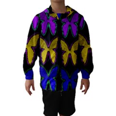 Butterflies Pattern Hooded Wind Breaker (Kids)