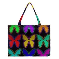 Butterflies Pattern Medium Tote Bag