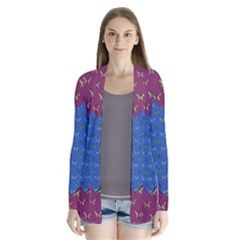Butterfly Heart Pattern Cardigans
