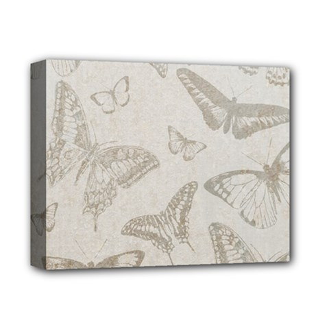 Butterfly Background Vintage Deluxe Canvas 14  x 11