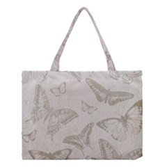 Butterfly Background Vintage Medium Tote Bag