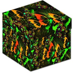 Butterfly Abstract Flowers Storage Stool 12