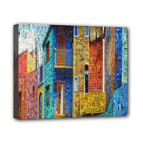 Buenos Aires Travel Canvas 10  X 8