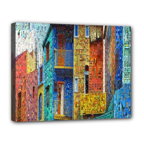 Buenos Aires Travel Canvas 14  x 11