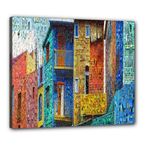 Buenos Aires Travel Canvas 24  x 20