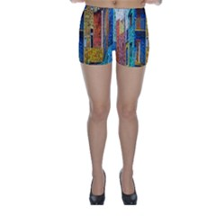 Buenos Aires Travel Skinny Shorts