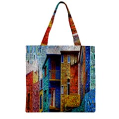 Buenos Aires Travel Zipper Grocery Tote Bag