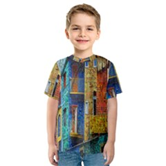 Buenos Aires Travel Kids  Sport Mesh Tee
