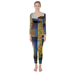 Buenos Aires Travel Long Sleeve Catsuit