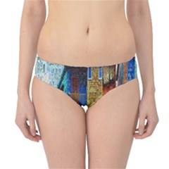 Buenos Aires Travel Hipster Bikini Bottoms