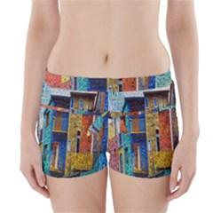Buenos Aires Travel Boyleg Bikini Wrap Bottoms