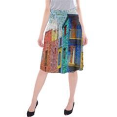 Buenos Aires Travel Midi Beach Skirt