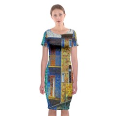 Buenos Aires Travel Classic Short Sleeve Midi Dress