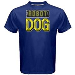 Robot Dog   Men s Cotton Tee