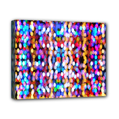 Bokeh Abstract Background Blur Canvas 10  x 8