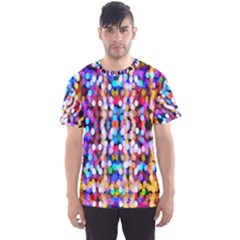 Bokeh Abstract Background Blur Men s Sport Mesh Tee