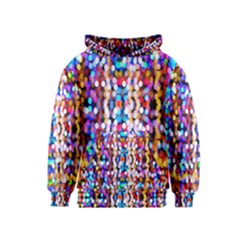 Bokeh Abstract Background Blur Kids  Pullover Hoodie