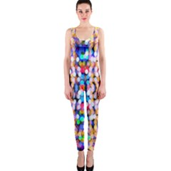 Bokeh Abstract Background Blur OnePiece Catsuit
