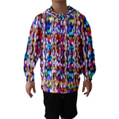 Bokeh Abstract Background Blur Hooded Wind Breaker (kids)