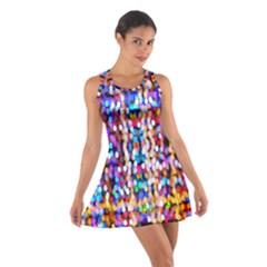 Bokeh Abstract Background Blur Cotton Racerback Dress