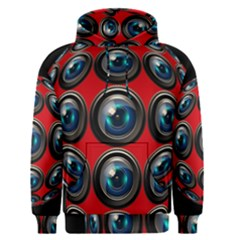 Camera Monitoring Security Men s Pullover Hoodie