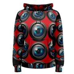 Camera Monitoring Security Women s Pullover Hoodie