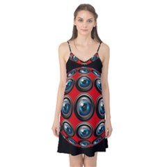 Camera Monitoring Security Camis Nightgown