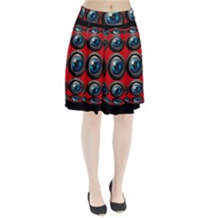 Camera Monitoring Security Pleated Skirt