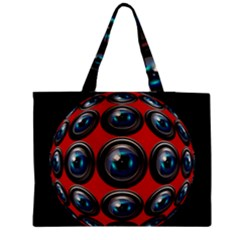 Camera Monitoring Security Medium Tote Bag