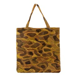 Camo Grocery Tote Bag