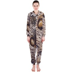 Butterfly Wing Detail Hooded Jumpsuit (Ladies)