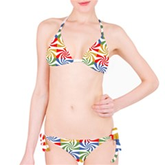 Candy Pattern  Bikini Set