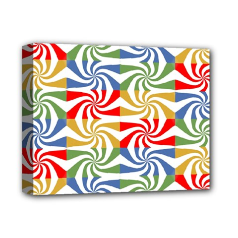Candy Pattern  Deluxe Canvas 14  X 11