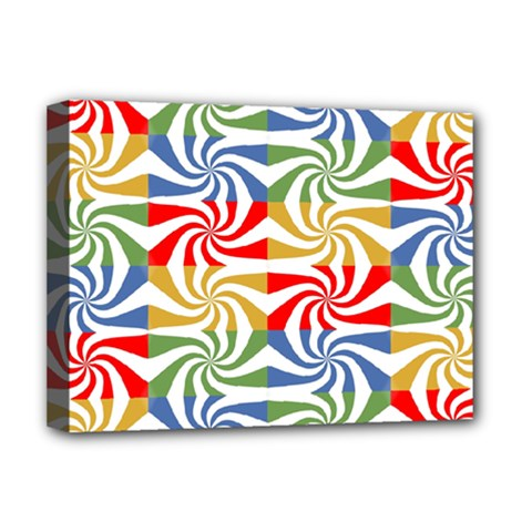 Candy Pattern  Deluxe Canvas 16  x 12