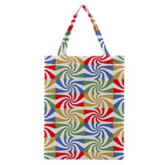 Candy Pattern  Classic Tote Bag