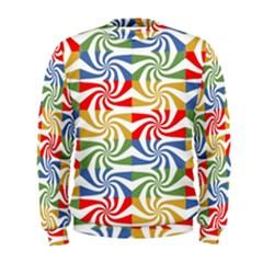 Candy Pattern  Men s Sweatshirt