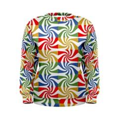 Candy Pattern  Women s Sweatshirt