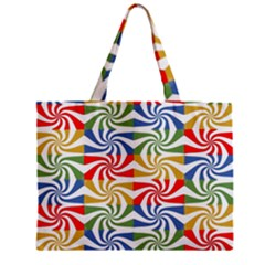 Candy Pattern  Zipper Mini Tote Bag