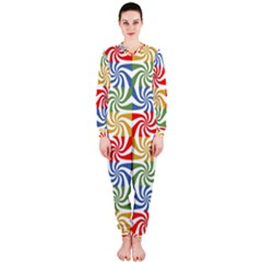 Candy Pattern  OnePiece Jumpsuit (Ladies)