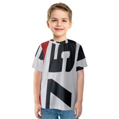 Car Auto Speed Vehicle Automobile Kids  Sport Mesh Tee