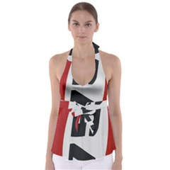 Car Auto Speed Vehicle Automobile Babydoll Tankini Top