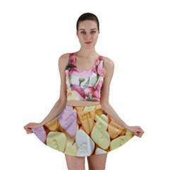 Candy Pattern Mini Skirt