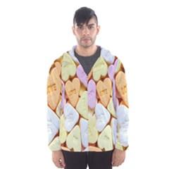 Candy Pattern Hooded Wind Breaker (men)